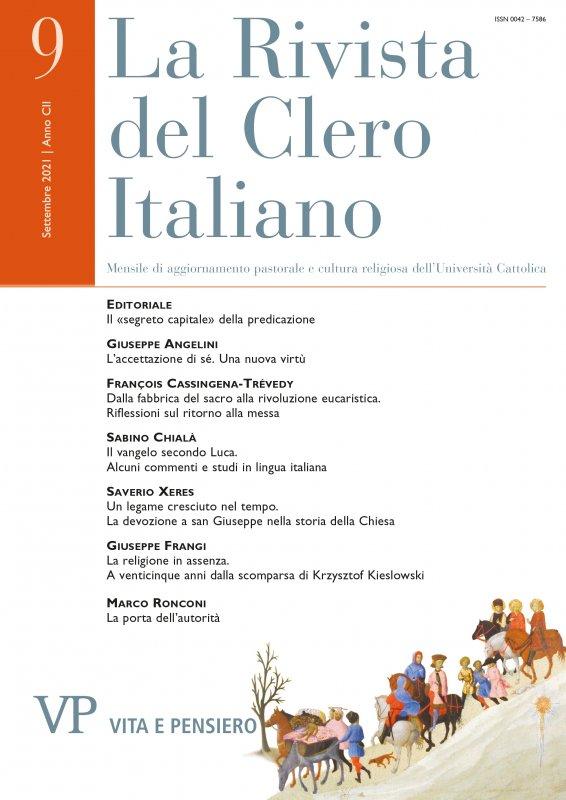 LA RIVISTA DEL CLERO ITALIANO. Abbonamento annuale 2015