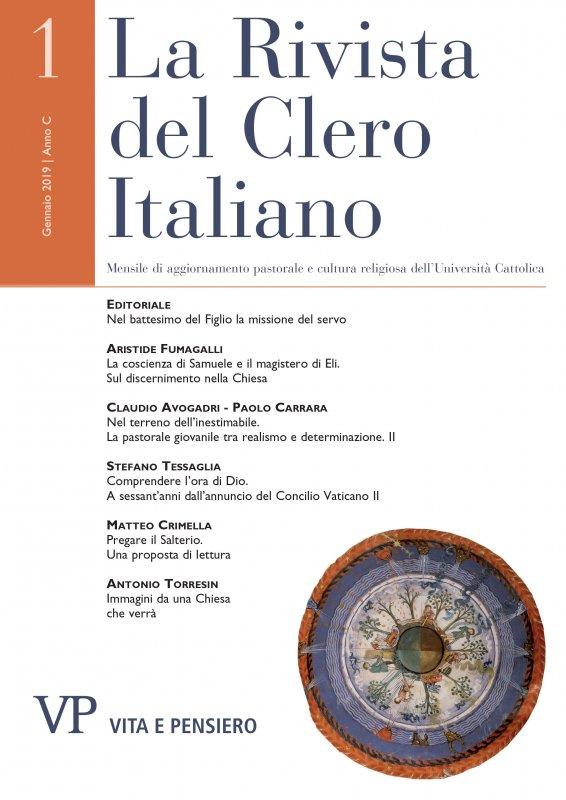 LA RIVISTA DEL CLERO ITALIANO. Abbonamento annuale 2020