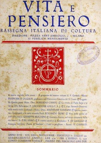 La rivolta di Paolo Sarpi e la tattica di S. Bellarmino
