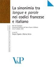 La sinonimia tra langue e parole nei codici francese e italiano
