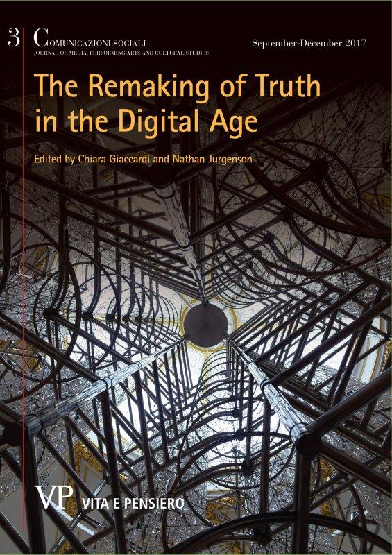 La verità mediata. Comunicazione politica e arte nell'era digitale