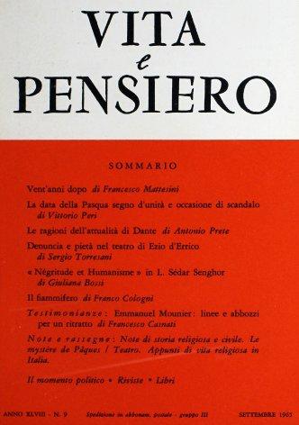 «Négritude et Humanisme» in L. Sédar Senghor