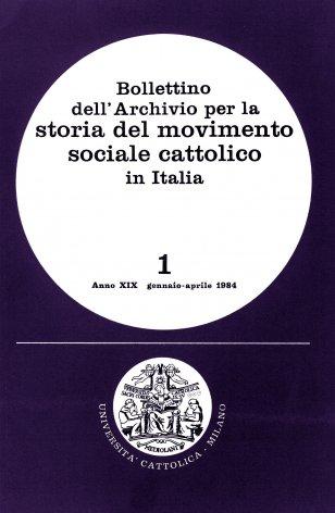 L'attività dell'Archivio nel periodo novembre 1982-dicembre 1983