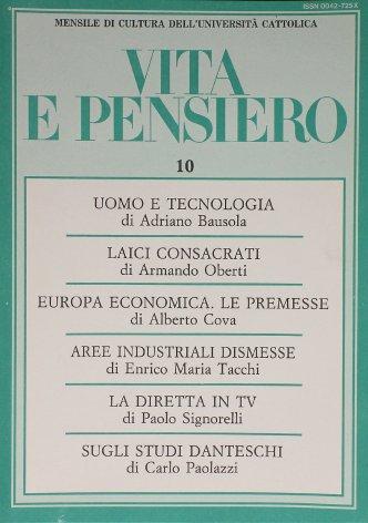 Le aree industriali dismesse: un approccio sociologico