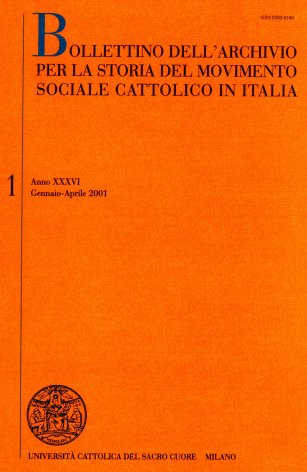Le carte Francesco Bellini presso la sede milanese dell'Archivio per la storia del movimento sociale cattolico in Italia «Mario Romani»