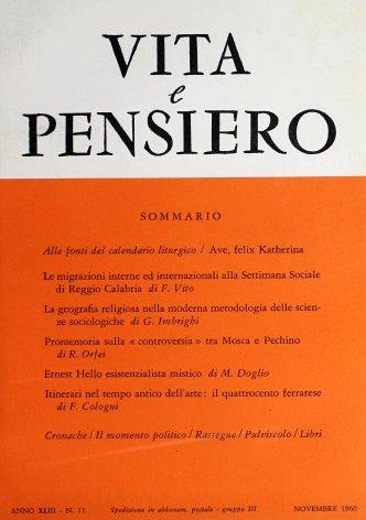 Le migrazioni interne ed internazionali alla Settimana Sociale di Reggio Calabria