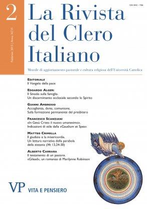 LA RIVISTA DEL CLERO ITALIANO - 2015 - 2