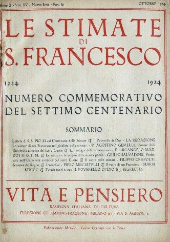 Le stimate di S. Francesco nel giudizio della scienza