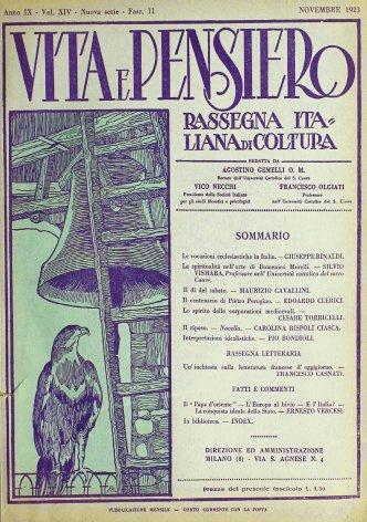 Le vocazioni ecclesiastiche in Italia