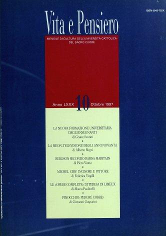 L'edizione delle «Opere complete» di Santa Teresa di Lisieux