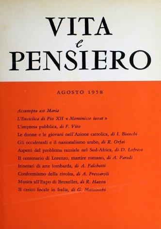 L'Enciclica di Pio XII «Meminisse iuvat»