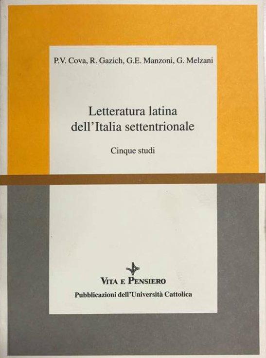 Letteratura latina dell'Italia settentrionale