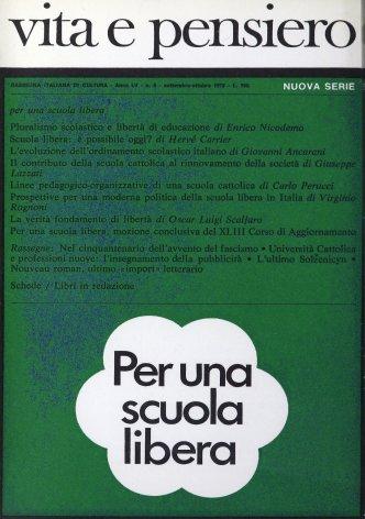 L'evoluzione dell'ordinamento scolastico italiano