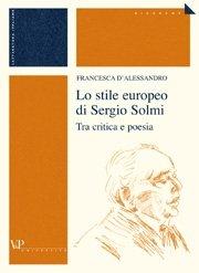 Lo stile europeo di Sergio Solmi
