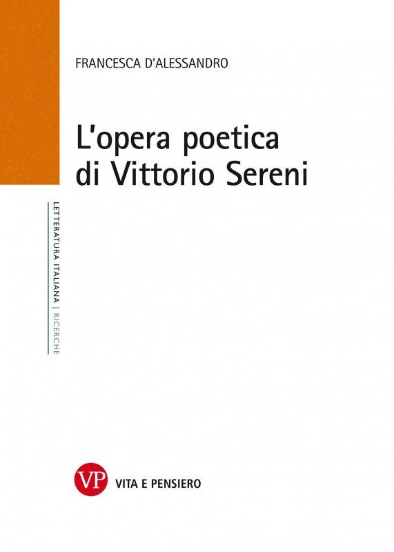 L'opera poetica di Vittorio Sereni