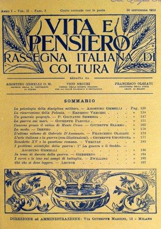 L'ultimo volume di Gabriele D'Annunzio