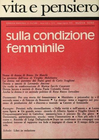 Marxismo e psicanalisi in «il secondo sesso» di Simone de Beauvoir
