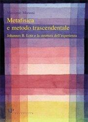 Metafisica e metodo trascendentale