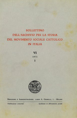 Momenti di vita sindacale nel primo dopoguerra: il Sindacato italiano tessile dal 1919 al 1921
