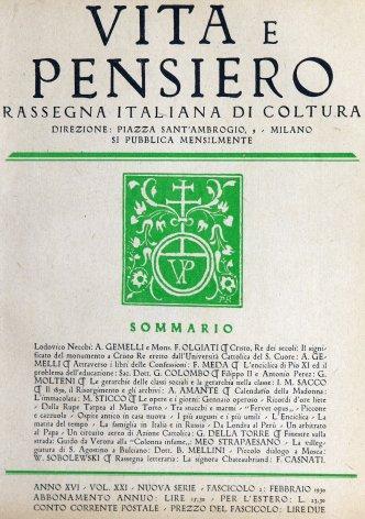 Nel centenario agostiniano. Attraverso i libri delle Confessioni