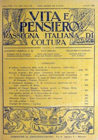 Nel centenario Dantesco: il sogno di Dante nella grande badia di Pomposa