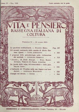 Nel secondo centenario dalla nascita di Maria Gaetana Agnesi