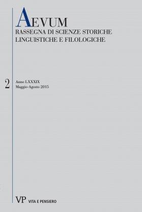 Notulae e lemmi greco-latini/volgari di Lazzaro Bonamico (Ambr. O 122 sup., ff. 312r-316v, Ambr. O 129 sup., ff. 121r-122v)