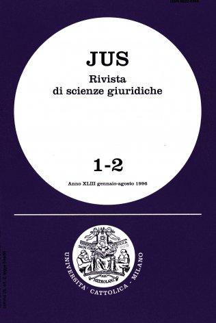 Nuclei tematici per l'articolazione di un programma di studi in preparazione di un Congresso internazionale di diritto canonico