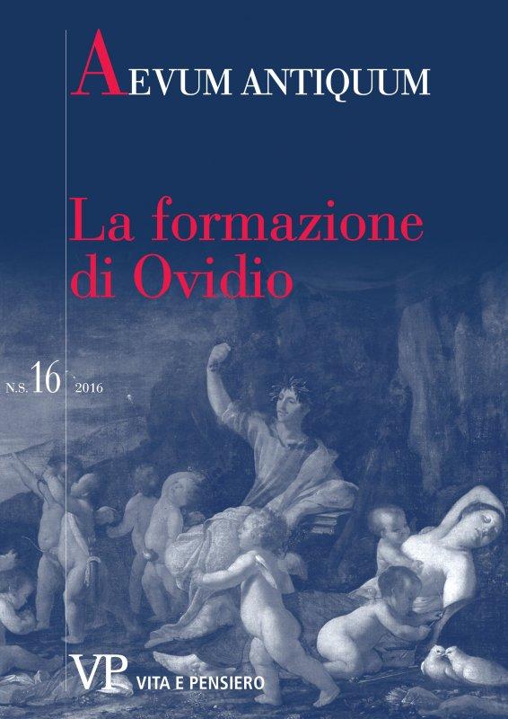 Ovidio su sé stesso: autobiografia e carriera poetica in Tristia IV 10 e altrove