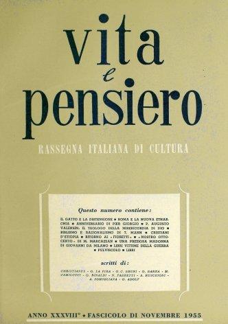 P. Augusto Valensin: il teologo della misericordia di Dio