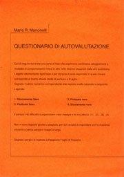 Pacco 30 questionari Questionario di Autovalutazione
