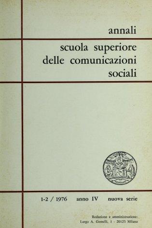 Partecipazione e comunicazioni sociali