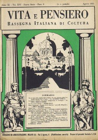 Per la festa della regalità del S. Cuore: Un voto teologico della Università Cattolica del S. Cuore