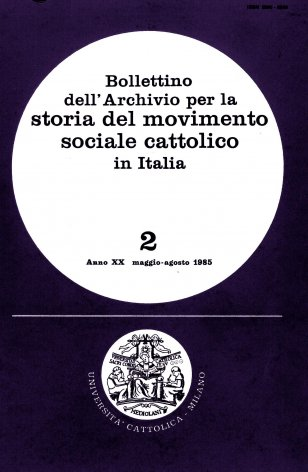 Per la storia del movimento sociale cattolico: la lega del riposo festivo di Torino