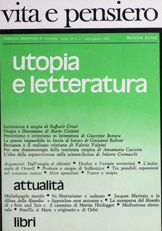 Per una drammaturgia della coscienza utopica