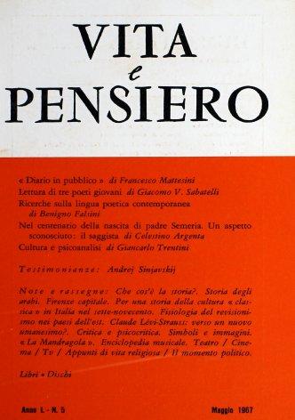 Per una storia della cultura «classica» in Italia nel sette-novecento