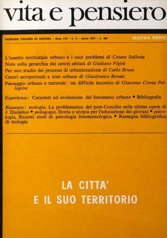 Per uno studio dei processi di urbanizzazione