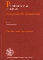 POLITICHE SOCIALI E SERVIZI - 2007 - 2