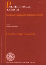 POLITICHE SOCIALI E SERVIZI - 2008 - 2