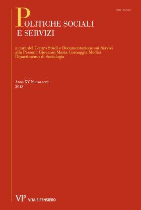 POLITICHE SOCIALI E SERVIZI - 2013 - 1