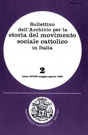 Presenza dei cattolici italiani in Argentina tra la metà dell'Ottocento e gli anni del fascismo (1850-1940). Tra emigrazione, mutuo soccorso e cooperativismo