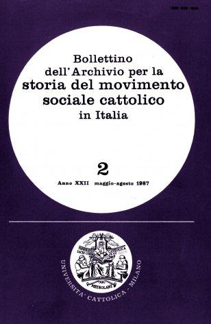 Prime note sull'organizzazione federativa cattolica del credito: Federazione bancaria italiana e Credito nazionale dal 1914 al 1926