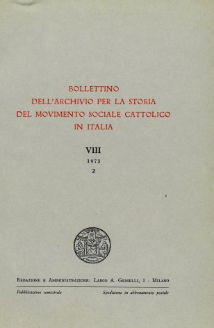 Primo elenco dei periodici cattolici a rilevante contenuto sociale editi nelle diocesi umbre dal 1860 al 1914
