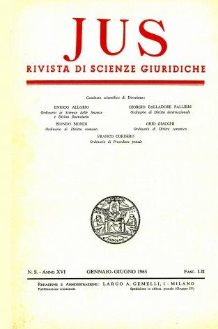 Pubblicazioni filosofiche di Giorgio Del Vecchio