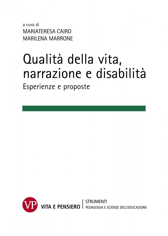 Qualità della vita, narrazione e disabilità