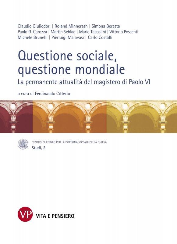 Questione sociale, questione mondiale
