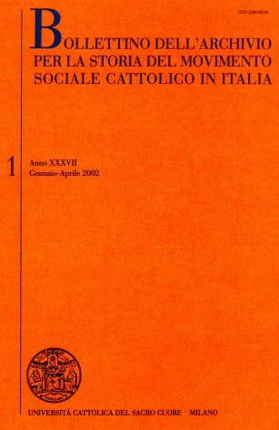 Relazione sull'attività svolta dall'Archivio nell'anno 2001