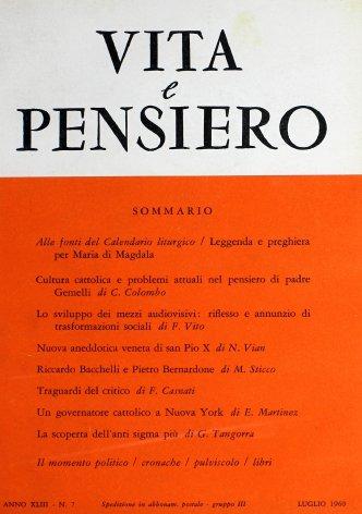 Riccardo Bacchelli e Pietro Bernardone