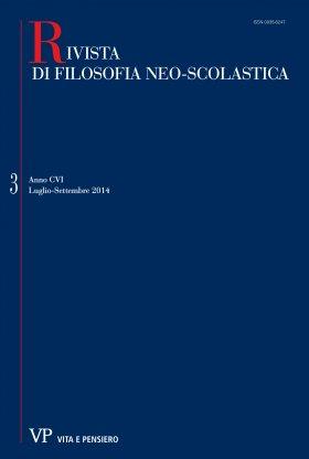 RIVISTA DI FILOSOFIA NEO-SCOLASTICA - 2014 - 3