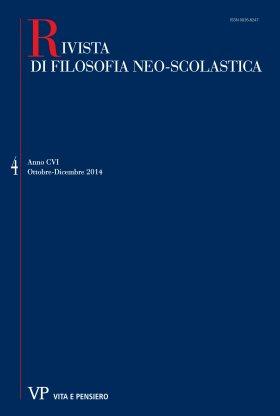 RIVISTA DI FILOSOFIA NEO-SCOLASTICA - 2014 -4
